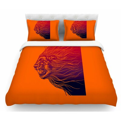 Furious+ by BarmalisiRTB Animals Featherweight Duvet Cover Size: King