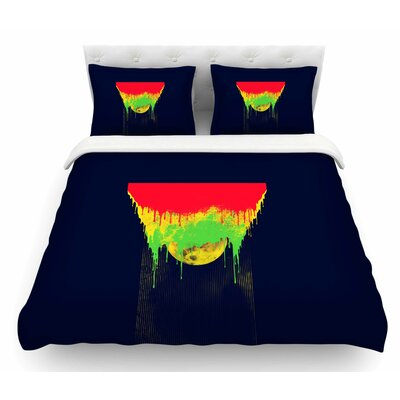 Began Closed by BarmalisiRTB Featherweight Duvet Cover Size: Queen