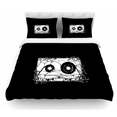 Cassette Featherweight Duvet Cover Size: King