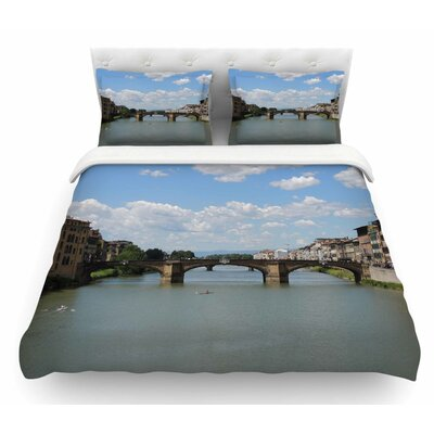 Italian Archways by Nick Nareshni Nature Travel Featherweight Duvet Cover Size: King
