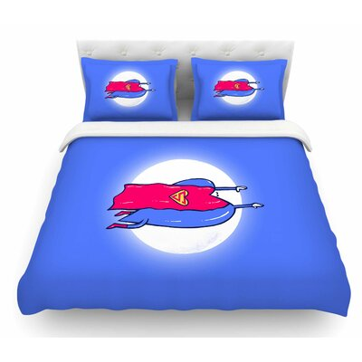 Superlove by BarmalisiRTB Featherweight Duvet Cover Size: King
