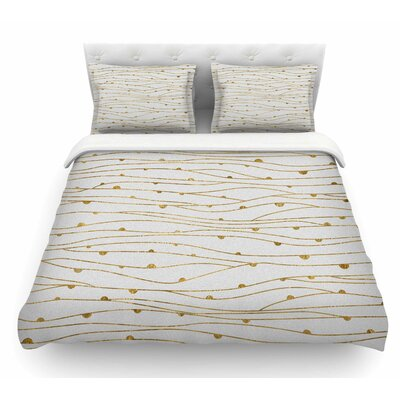 Stripes Pattern by 888 Design Abstract Featherweight Duvet Cover Size: Queen
