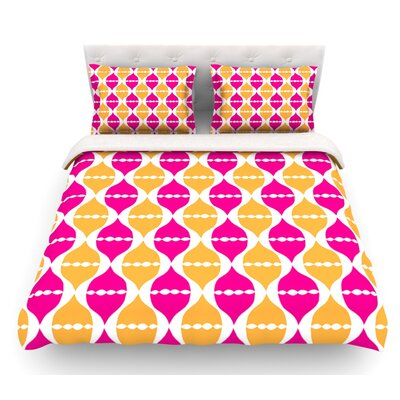 Moroccan Dreams by Apple Kaur Designs Featherweight Duvet Cover Size: Queen
