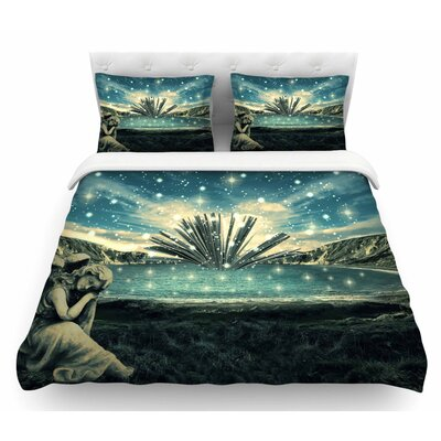 The Knowledge Keeper by 888 Design Fantasy Featherweight Duvet Cover Size: King