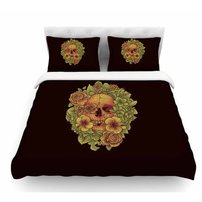 Fragrant Dead by BarmalisiRTB Illustration Featherweight Duvet Cover Size: King