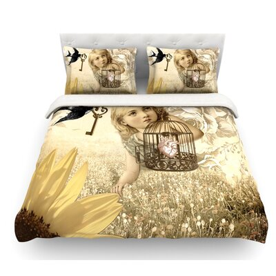 Key by Suzanne Carter Featherweight Duvet Cover Size: Twin