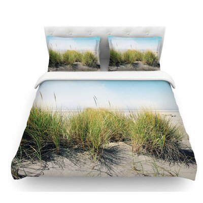 Dune Grass by Sylvia Cook Coastal Featherweight Duvet Cover Size: Twin