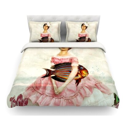 The Gardener by Suzanne Carter Featherweight Duvet Cover Size: Queen