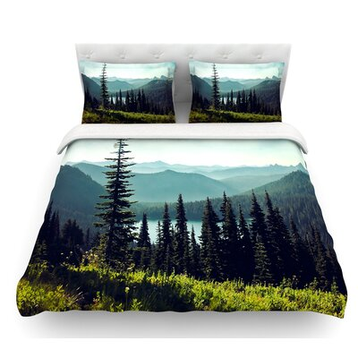 Discover Your Northwest by Sylvia Cook Landscape Featherweight Duvet Cover Size: Twin