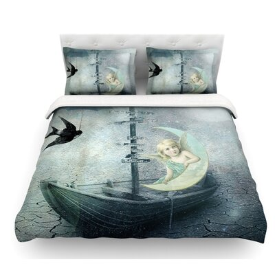 Rain by Suzanne Carter Featherweight Duvet Cover Size: Queen