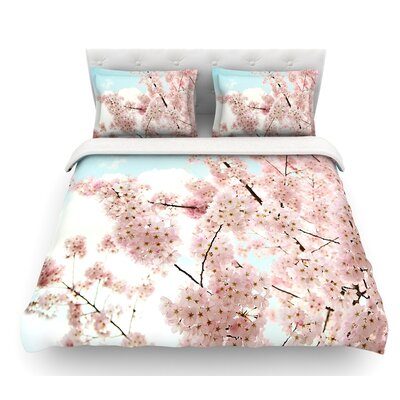 Spring Beauty by Sylvia Cook Featherweight Duvet Cover Size: Queen