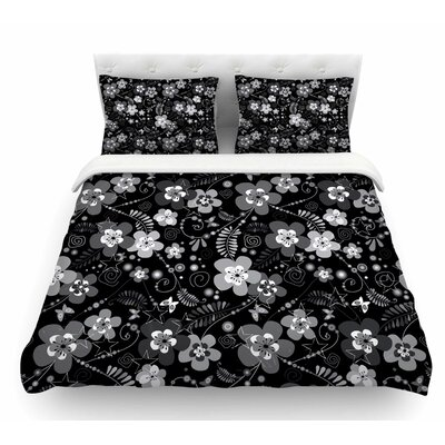 Diasy Daisy by Suzanne Carter Featherweight Duvet Cover Size: Queen