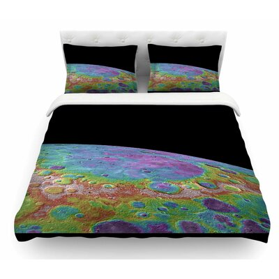 Mercurys Closeup by Alias Abstract Featherweight Duvet Cover Size: Twin