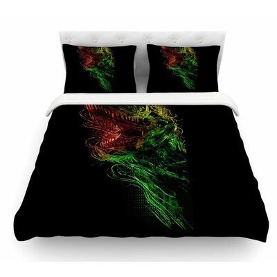 Killing Machine by BarmalisiRTB Digital Featherweight Duvet Cover Size: King