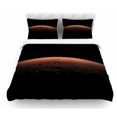 Martian Sunrise by Alias Nature Featherweight Duvet Cover Size: King
