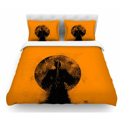Samuari by BarmalisiRTB Featherweight Duvet Cover Size: King