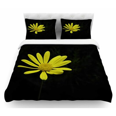 Petal Daisy by Nick Nareshni Floral Featherweight Duvet Cover Size: Queen