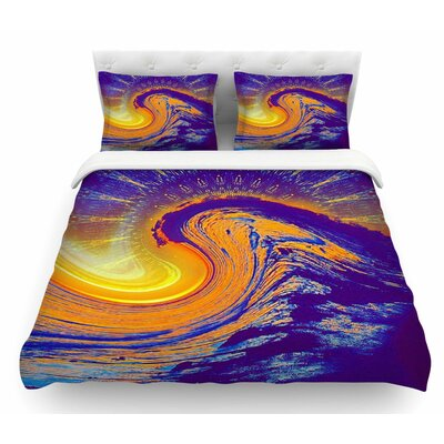 Devreux by Infinite Spray Art Nautical Featherweight Duvet Cover Size: Queen
