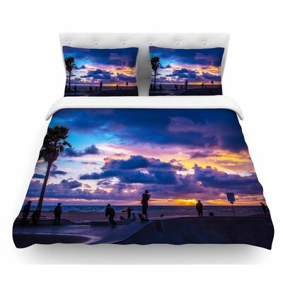 Dogtown by Juan Paolo Featherweight Duvet Cover Size: King