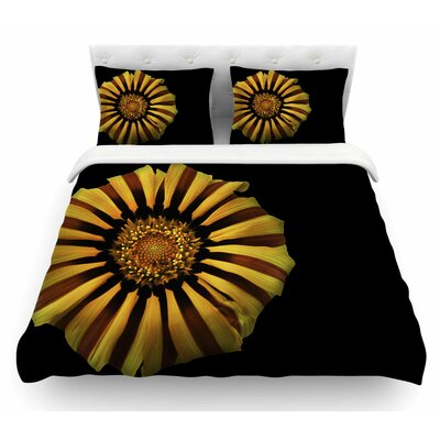 Flower by Nick Nareshni Floral Featherweight Duvet Cover Size: Queen
