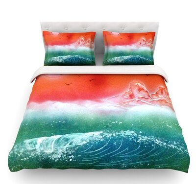 Dream Seascape by Infinite Spray Art Featherweight Duvet Cover Size: King