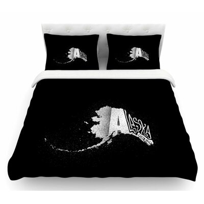 Alaska by BarmalisiRTB Featherweight Duvet Cover Size: Queen