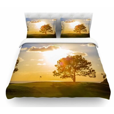 Approach Shot by Juan Paolo Featherweight Duvet Cover Size: Twin