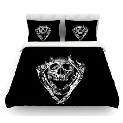 Jawz by BarmalisiRTB Digital Featherweight Duvet Cover Size: King