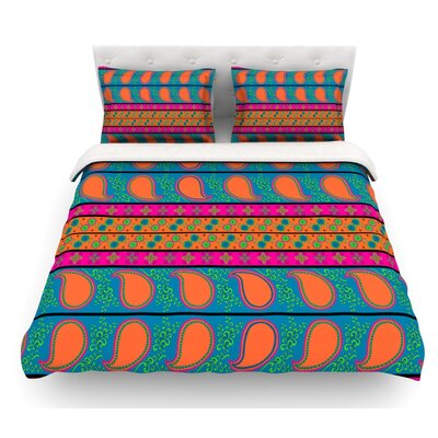 Bohemian V by Nandita Singh Featherweight Duvet Cover Size: King