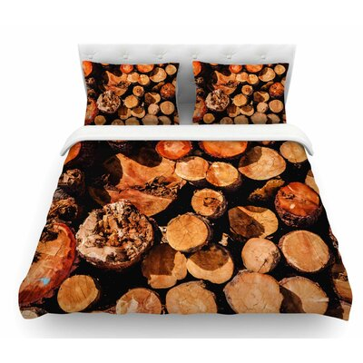 The Lumber Yard by Juan Paolo Featherweight Duvet Cover Size: King