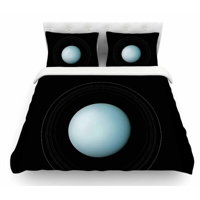 Uranus by Alias Featherweight Duvet Cover Size: Twin