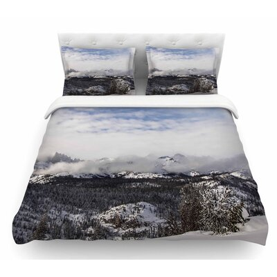 Top of the Summit by Juan Paolo Featherweight Duvet Cover Size: King