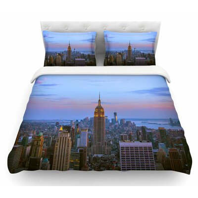 Empire State of Mind by Juan Paolo Featherweight Duvet Cover Size: Twin
