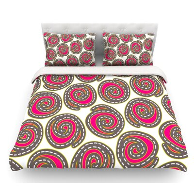 Bohemian IV by Nandita Singh Featherweight Duvet Cover Size: Queen