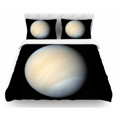 Venus by Alias Nature Featherweight Duvet Cover Size: Queen