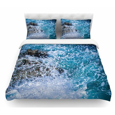 La Jolla Shores by Juan Paolo Featherweight Duvet Cover Size: King