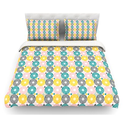 Christmas Celebration by Nandita Singh Featherweight Duvet Cover Size: King