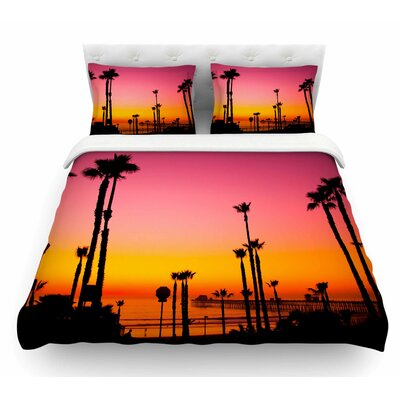 Pacific Dream by Juan Paolo Magneta Featherweight Duvet Cover Size: Twin