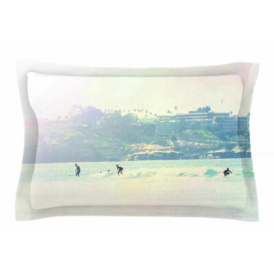 Rainbow I by Sylvia Coomes Pillow Sham Size: Queen