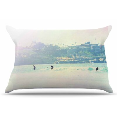Rainbow I by Sylvia Coomes Pillow Sham Size: King