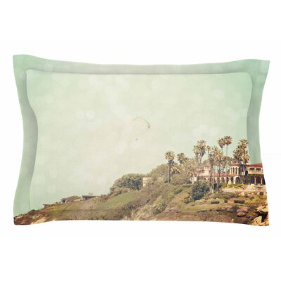 West Coast 1 by Sylvia Coomes Pillow Sham Size: Queen