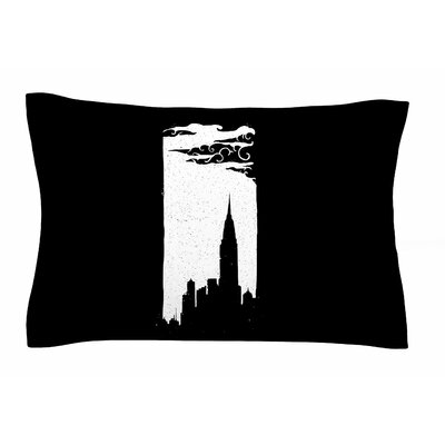 Chrysler Building by BarmalisiRTB Pillow Sham Size: Queen