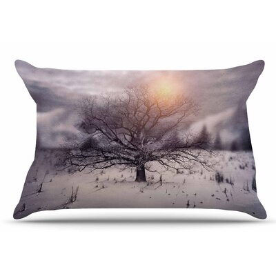 Lone Tree Love II by Viviana Gonzalez Pillow Sham Size: King
