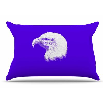 Blind and Silent by BarmalisiRTB Pillow Sham Size: King