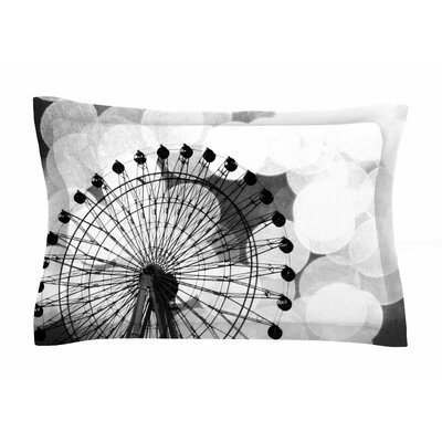 Ferris Wheel by Sylvia Coomes Pillow Sham Size: Queen