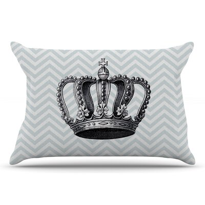 Crown by Suzanne Carter Pillow Sham Size: King