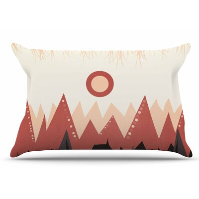 Landscape A. by Viviana Gonzalez Pillow Sham Size: King