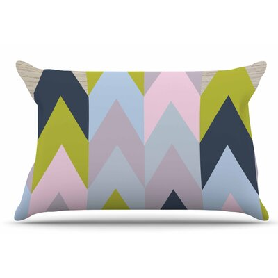 Woodgrain by Suzanne Carter Pillow Sham Size: King