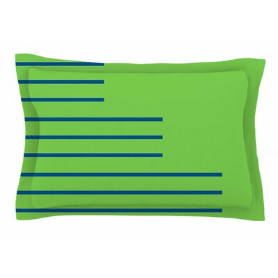 Stepenice V.3 by Trebam Pillow Sham Size: Queen