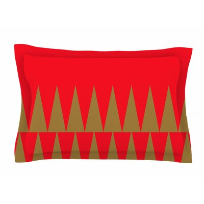 Christmas 1 by Suzanne Carter Pillow Sham Size: Queen